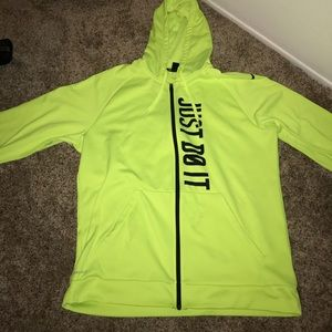 Neon Nike sweater